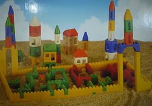 歐式城堡積木